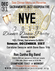 2017 New Year's Eve Gala @ Masonic Temple | Sacramento | California | United States